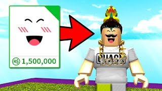 MY SECRET 1.5 MILLION ROBUX ITEM!! (Roblox)