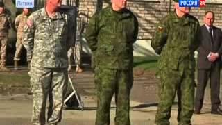 Моряки НАТО 'ПИСАЮТ' на витрины в Латвии!Ведут себя как СВИНЬИ и ОККУПАНТЫ!Морякам бьют МОРДЫ!