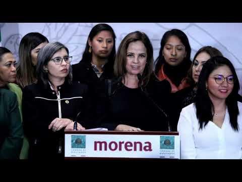 conferencia-de-prensa-diputadas-de-morena- -06/02/2020