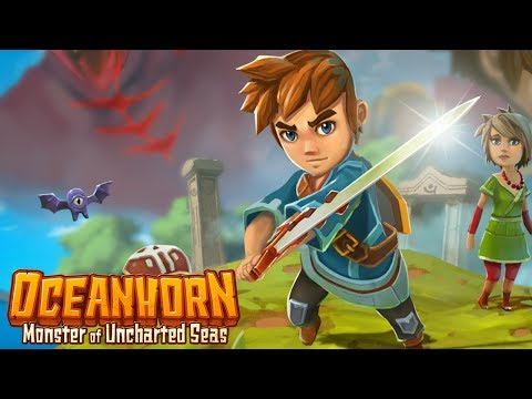 LA LÉGENDE DU MONSTRE DES MERS - OCEANHORN SWITCH #01