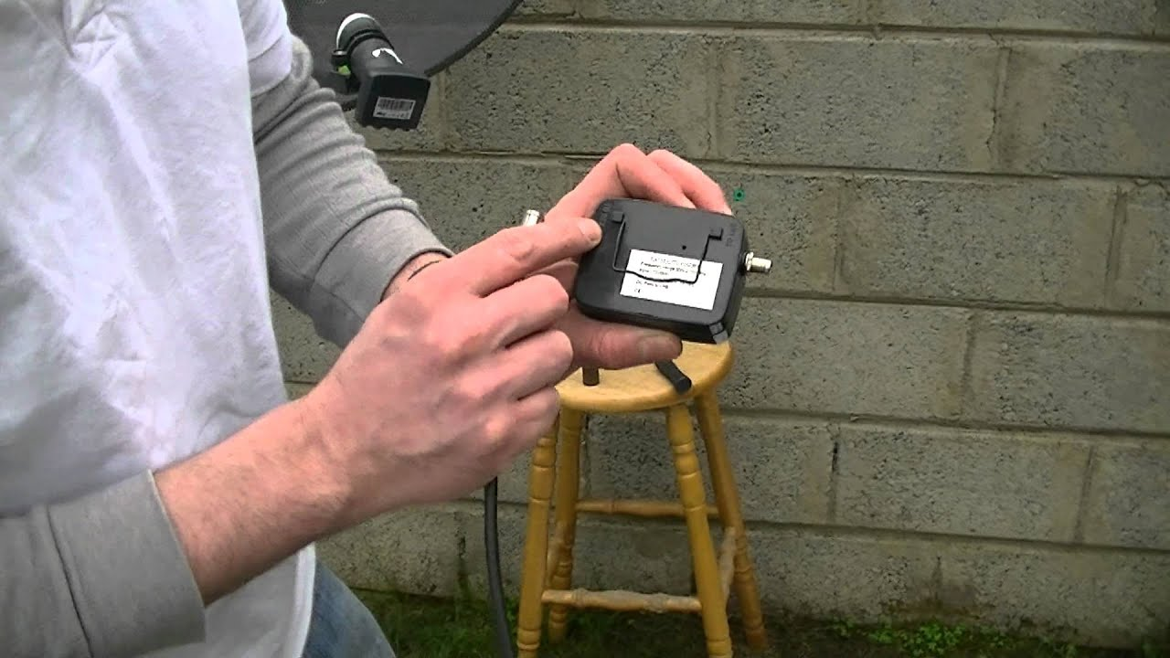 How to Setup  Align a Satellite Dish for Sky  Freesat