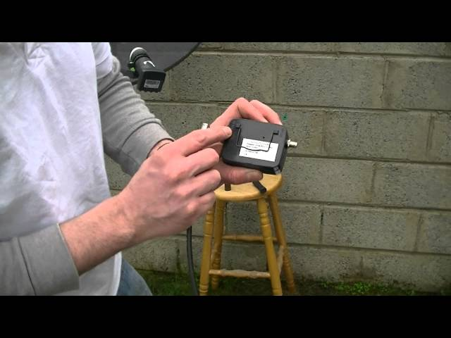 How to Setup & Align a Satellite Dish for Sky / Freesat - YouTube