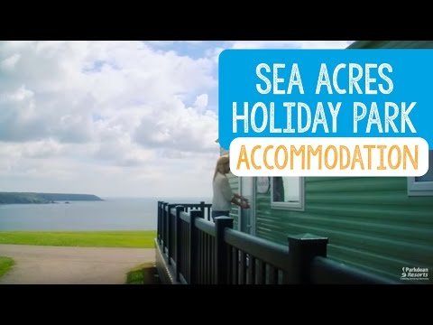 Sea Acres Holiday Park Accommodation, Cornwall