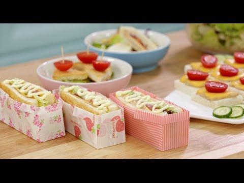 《Tinrry下午茶》教你做吞拿鱼三明治