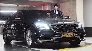 2019 Mercedes Maybach S Class LONG - Full Review S560 Interior Exterior Security