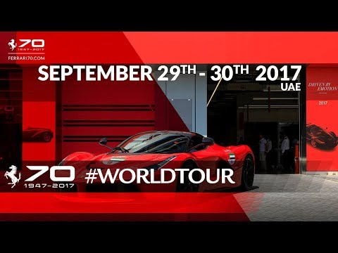 70 Years Celebrations - UAE, September 29th-30th 2017