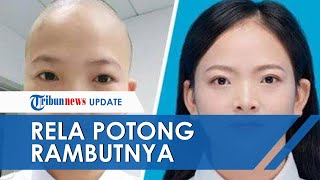 Perawat Cantik Rumah Sakit Wuhan Rela Pangkas Rambut Hingga Botak, Demi Pasien Virus Corona