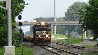 Railfanning at Selma: S&H