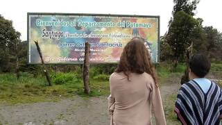 Mercedes Salazar Visit to Sibundoy, Putumayo, Colombia