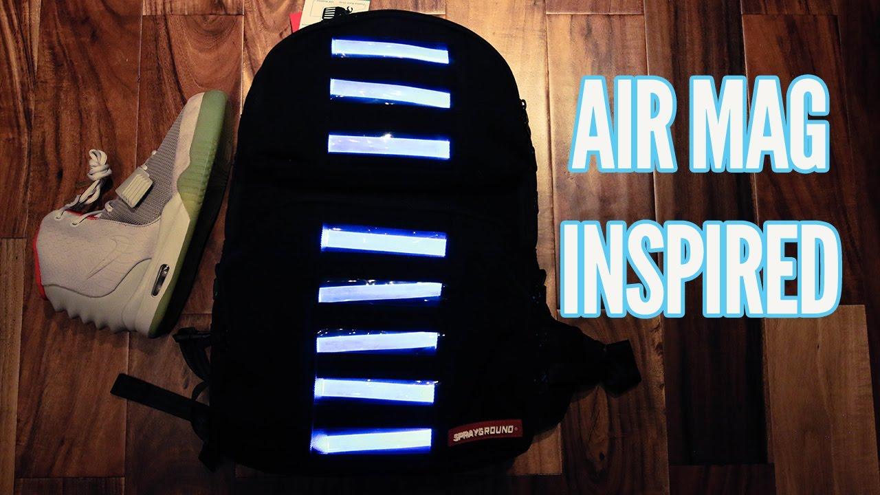 NIKE AIR MAG INSPIRED BACKPACK!! - YouTube