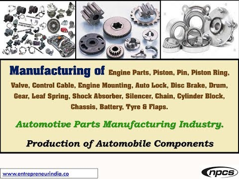 Manufacturing of Engine Parts, Piston, Pin, Piston Ring, Valve, Control Cable,.....