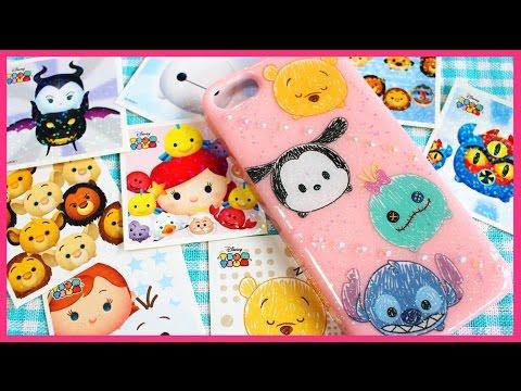 DIY Tsum Tsum Phone Case