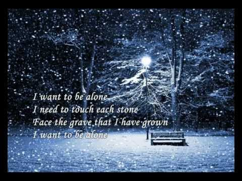 I Want To Be Alone (Dialogue)