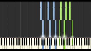 Yann Tiersen - 1976 (Synthesia Tutorial)