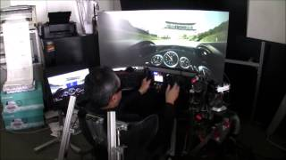 Project CARS with FREX SimConMOTION and the Rig