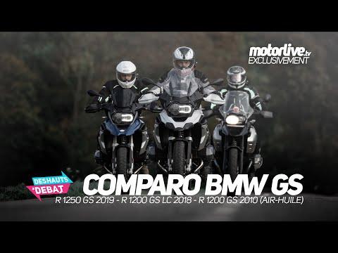 COMPARO GS BMW (1250 vs 1200 LC vs 1200) | DES HAUTS ET DEBAT