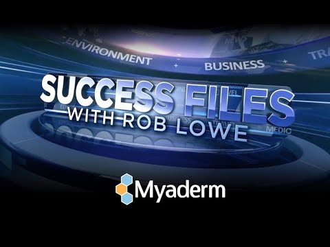 "Myaderm PBS ""Success Files with Rob Lowe"""