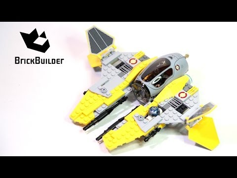Lego Star Wars 75038 Jedi Interceptor Build and review - YouTube