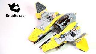 Kijk Lego Star Wars 75038 Jedi Interceptor filmpje