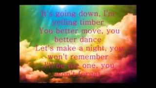 Download Pitbull ft Kesha - Timber    # Lyrics MP3 song and Music Video