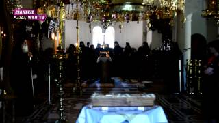 Ο Δ  Μάρδας στον Οσιο Νικόδημο Πενταλόφου ν. Κιλκίς-23-5-15