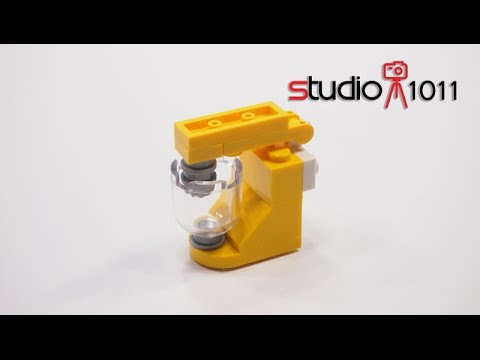 Lego Baking Mixer With Materials And Step By Step Build