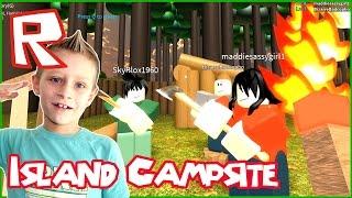 My Campsite - Roblox Island