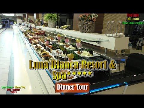 Вся правда Hotel Luna Blanca Resort & Spa - Dinner Tour -Vol.4 / Ultra All Inclusive - Kumköy/Side