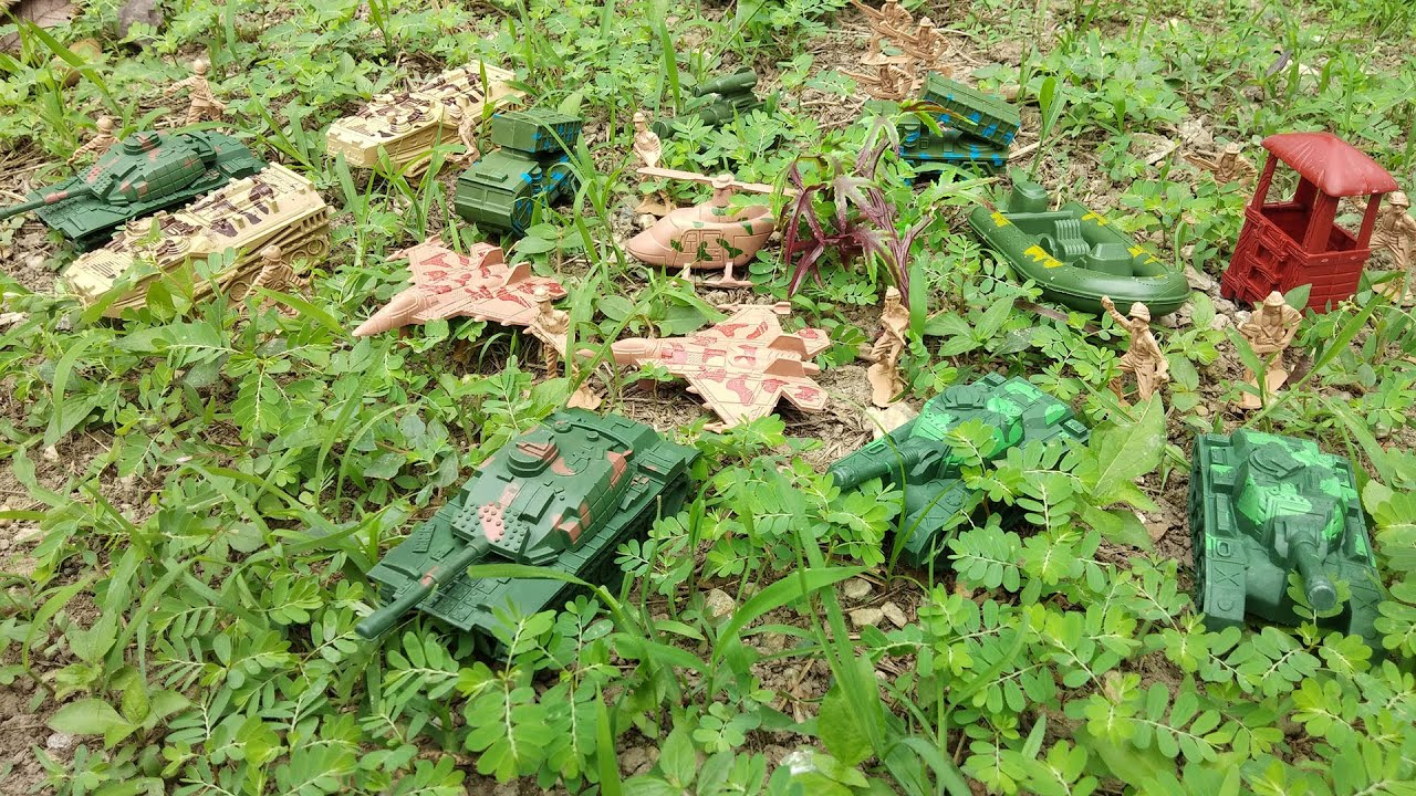 Toy Soldiers! Military Toy Tanks, Assault Vehicles, Missile Launchers, Trucks and More!