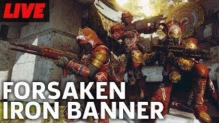 Destiny 2: Forsaken Iron Banner Is Back And Weekly Reset