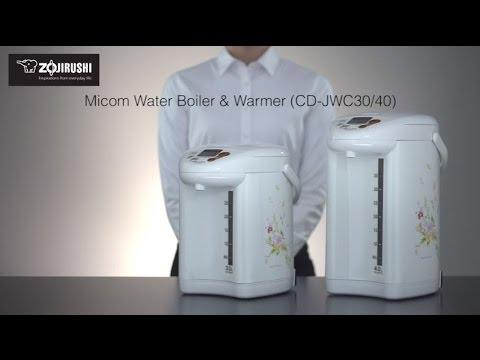 Zojirushi Micom Water Boiler & Warmer CD-JWC30/40