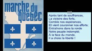 Marche du Québec Hymne à l'Indépendance 1968