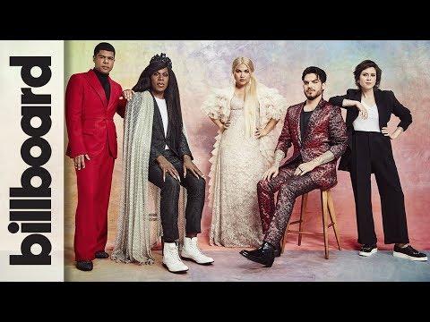 Adam Lambert, Hayley Kiyoko, Tegan Quin, Big Freedia & ILoveMakonnen Billboard Cover Shoot: COVER'D