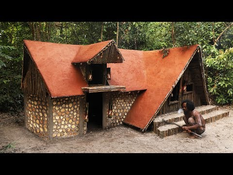 Awesome Man! Build The Greatness Winter Ancient Villa House