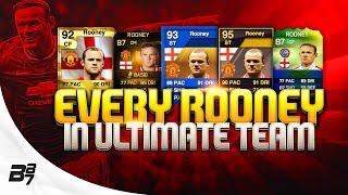 EVERY WAYNE ROONEY CARD ON FIFA ULTIMATE TEAM!