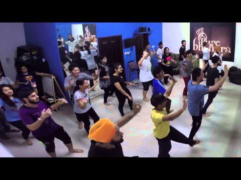 Bhangra Routine on Offlicence - Ghaint Patola by Pure Bhangra