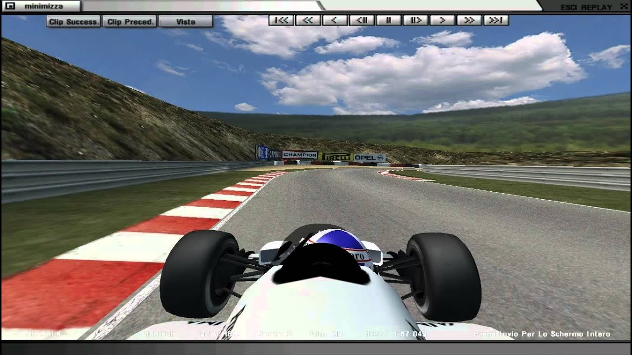 Rfactor F1 Track pack