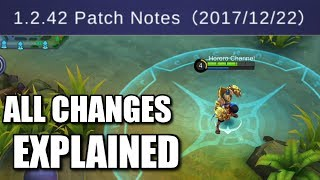 All The Nerfs And Buffs Explained