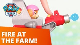 PAW Patrol  Smoke At Farmer Yumi39s Farm  Toy Episode