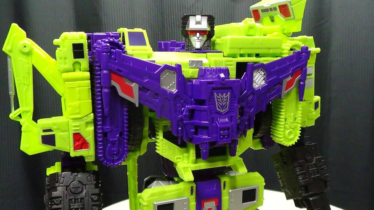 Generations Combiner Wars DEVASTATOR (Devastator Part 7): EmGo's Transformers Reviews N' Stuff