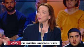 """""""Je pense sincèrement que je vais mettre 50 € pour la reconstruction nationale de Notre-Dame !"""""""