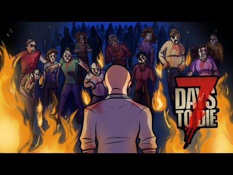 BIGGEST HORDE I HAVE EVER SEEN! - 7 Days To Die - Episode 7 (NEW ALPHA 17)