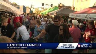 Thousands shop at Canton Flea Market