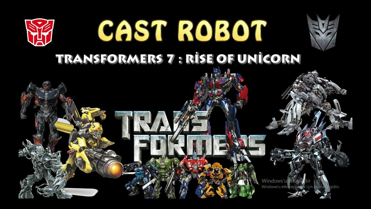 Transformers 7 : Rise Of Unicron - CAST ROBOT 2020 #1