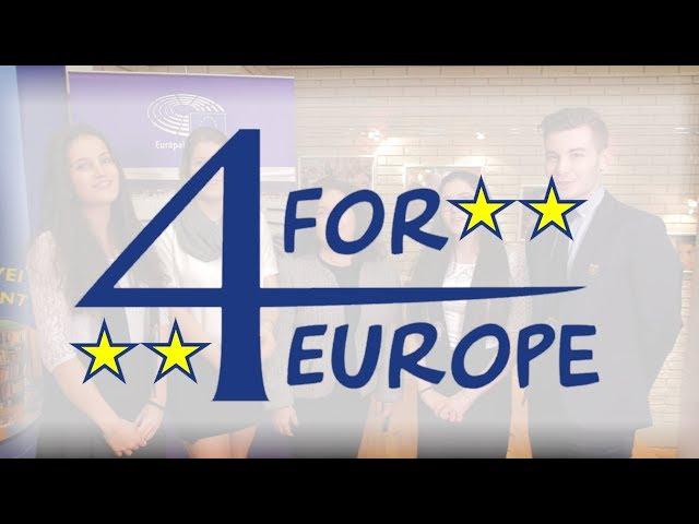 4forEurope – országos EU-s vetélkedő középiskolásoknak