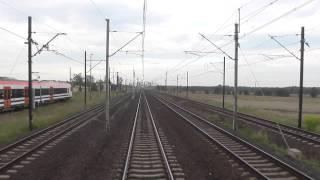 Nowe pociagi z Newagu 36WEa dla Małopolski - widok EIC Ondraszek na CMK