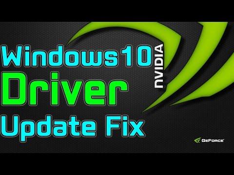 Windows 10 nvidia driver update fix for sli multi monitor