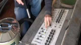 Restoration of an old Mobile DJ console from the 70's Part 1