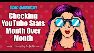 Checking My YouTube Traffic Sources Month Over Month