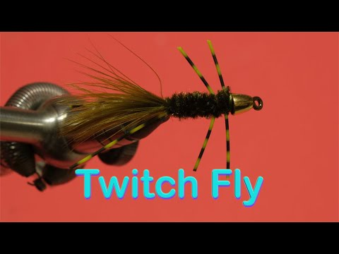 Beginner's Fly Tying: Easy Bass Series - The Twitch Fly For Smallmouth Bass And Carp